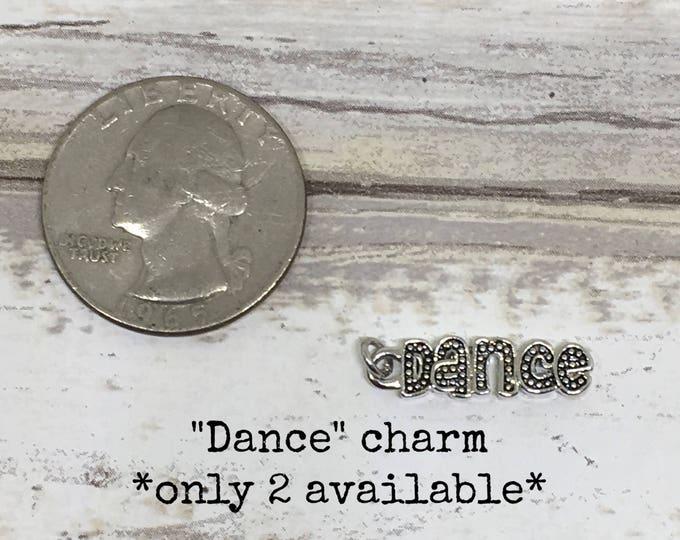 Dance charm necklace