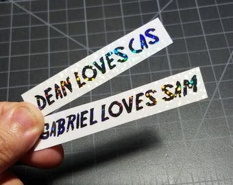 Holographics Sticker - Shipping Stickers 2 pack