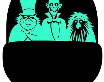 Haunted Mansion Doombuggy Vinyl Decal Sticker