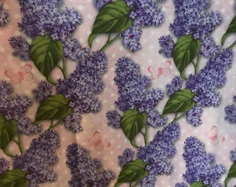 Hyacinth fabric by the yard