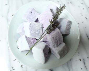 Lavender and Honey Marshmallows  Organic 16 pieces
