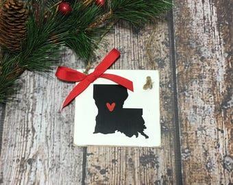 Louisiana ornament   Etsy
