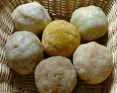 6 Soap Balls, 2.5 pounds of aromatherapy essential oil soap