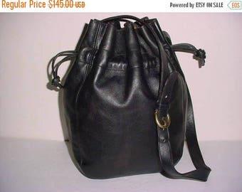 Sizzling Summer Sale Coach Bag~Coach~Coach Bucket Bag~Black Coach~Tote~ Cross Body~ Bucket Bag  Handbag