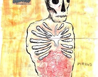 ONLY THE DEAD: Pirous