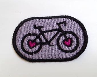 Bike Lover's Embroidered Patch