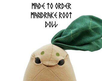 Made To Order Mandrake Root Plush