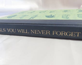 Vintage 1969 Readers Digest Animals You Will Never Forget Short Stories Book