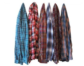 PICK ONE Flannel Shirt with Nehru Collar