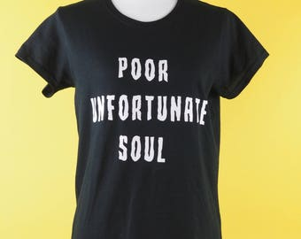 Ursula Poor Unfortunate Soul Disney Villian Tee for Women perfect for Disney Dapper Day or Day in the Disney Parks