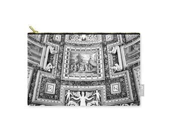 Vatican Museum Gallery Of Maps Carry All Pouch, Patrushka Tote, Travel Bag, Purse, Tote Bag, Fashion Bag, Cosmetic Bag, FREE SHIPPING USA