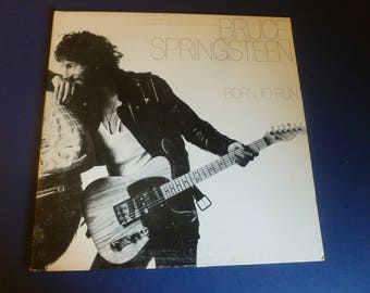 Bruce Springsteen Born To Run Vinyl Record LP PC 33795 Columbia Records 1975