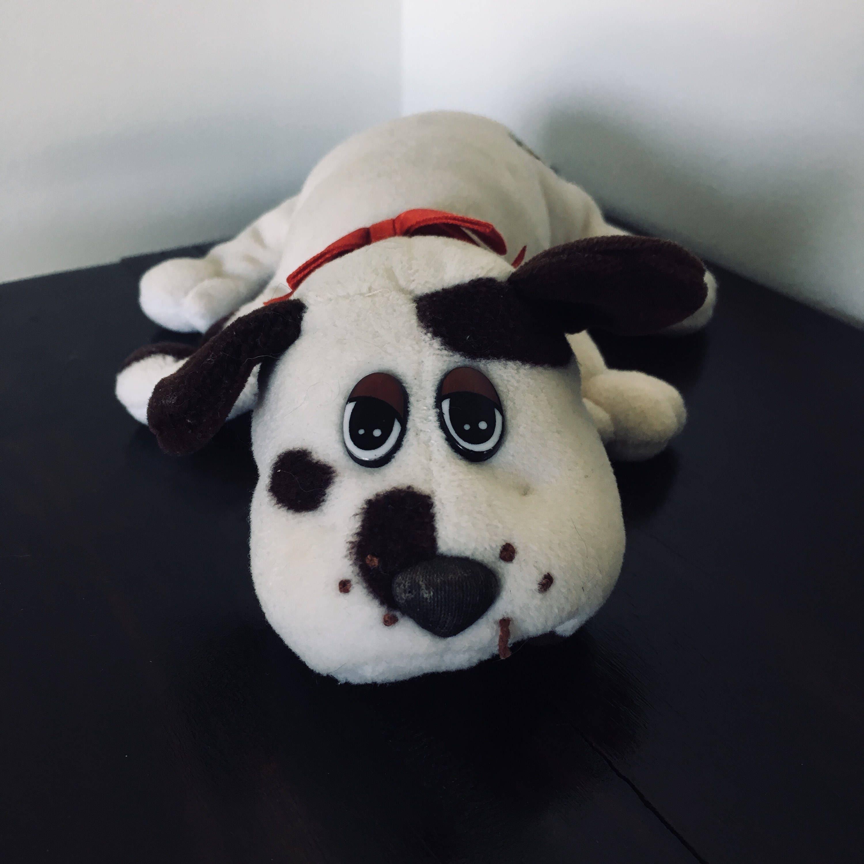VINTAGE Tonka Pound Puppy Pound Puppies Plush Stuffed White