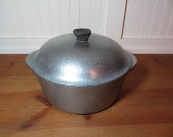 Club Aluminum Hammered 4.5 Quart Dutch Oven Retro, Vintage Kitchen