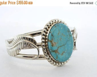 ON SALE - Turquoise Silver Bracelet