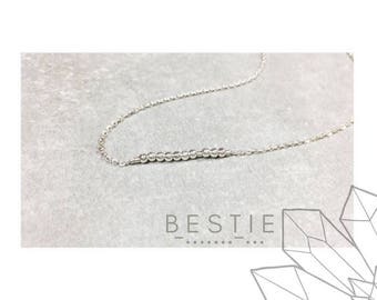BESTIE Morse Code necklace: SOUL MATES collection