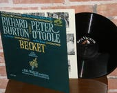 Beckett - Movie Soundtrack LP Vinyl Record Peter O'Toole Richard Burton Henry I