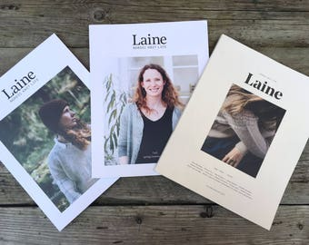 Laine Magazine: Nordic Knit Life Issues 1, 2, 3, or 4