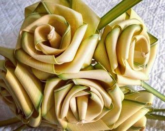Palmetto Roses (Set of 12 single Palmetto Roses)