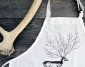 Deer Tree Aprons and Totes Sets -9