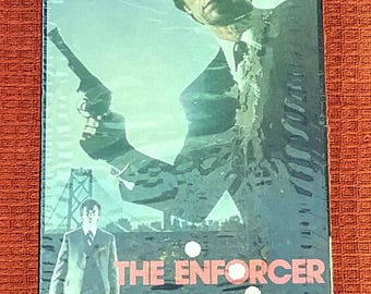 Clint Eastwood The Enforcer VHS tape Movie