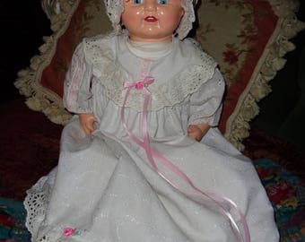 Horsman Baby Dimples doll, 20 inches tall