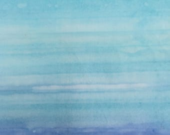 Robert Kaufman Fabric, Batiks, Patina Handpaints, AMD 7004-63, Sky Blue Batiks