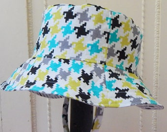 Toddler Bucket Hat, 1 to 2 Year Boy Sun Hat for Boys, Child Sun Hat