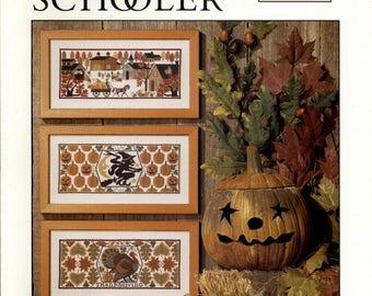The Prairie Schooler: Harvest Time #93 (OOP) - an Original Cardstock Cross Stitch Pattern