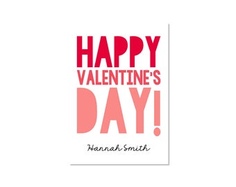 Valentine Classroom Card