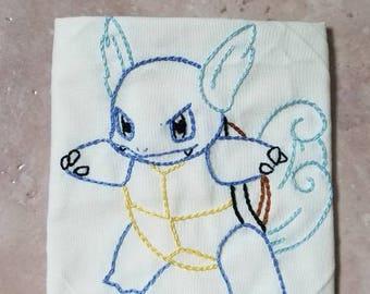 Wartortle Embroidery