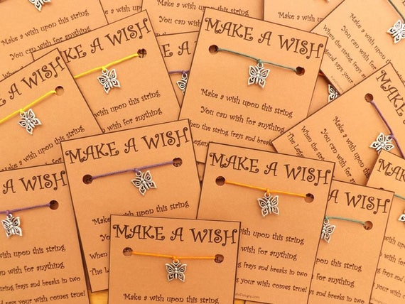 10 - 20 Any Charm of Choice Wish Bracelets