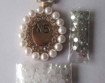 Cell Phone Embellishment Kit-Perfume Bottle