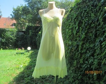 Underdress / Yellow Underdress / Slip dress / Slipdress / Size EUR42 / UK14