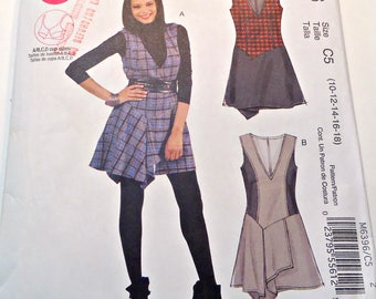 McCall's Sewing Pattern 6396 Sewing Pattern Misses Jumpers Size 10 12 14 16 18 Uncut