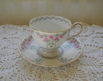 TEACUP, Vintage TUSCAN Bone China Teacup