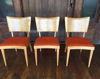 3 Heywood Wakefield Stingray Chairs. Mint condition. Local LA Pick Up ONLY
