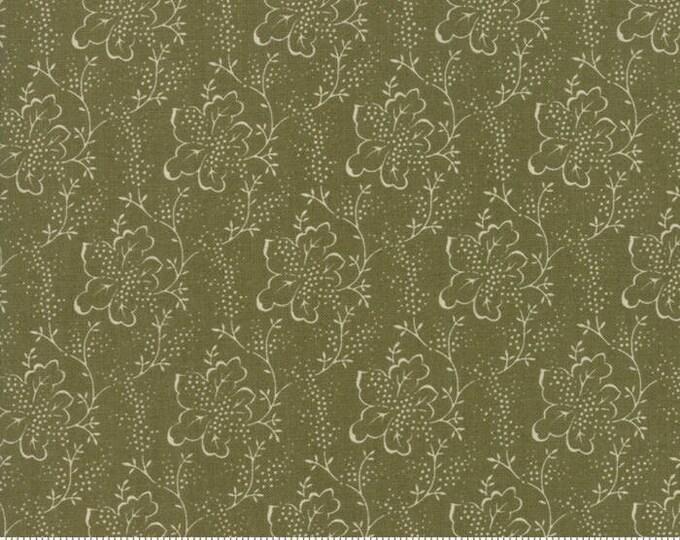 Lilac Ridge Green 2214 13 by Jan Patek for Moda Fabrics