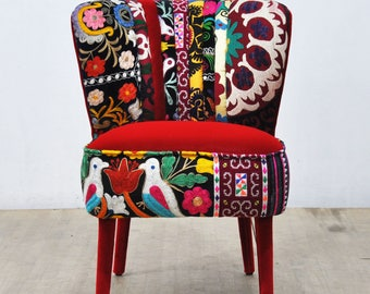 50's Clubchair - red love