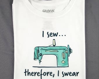 Sewing & Swearing Tshirt