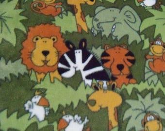 It's A Jungle! Fleece Blanket