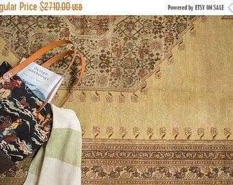 10% OFF RUGS 9x13 Vintage Tabriz Carpet