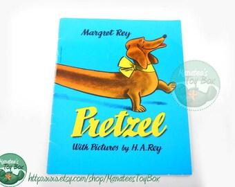 Pretzel by Margret Rey Vintage Childrens Book Paperback