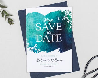 Helena Wedding Save The Date cards