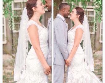 Wedding veil lace bridal lace veil wedding lace veil