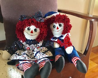 Americana Raggedy Ann & Andy