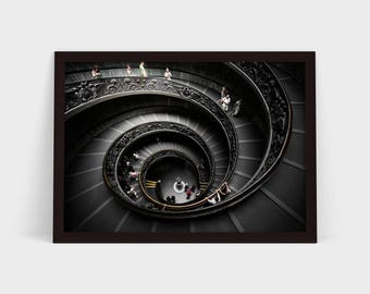 The Vatican Staircase - Original Photographic Print