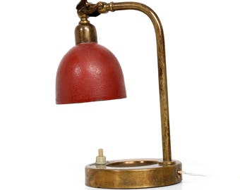 Mid Century Modern Italian Table Lamp - Wall Sconce with Ashtray