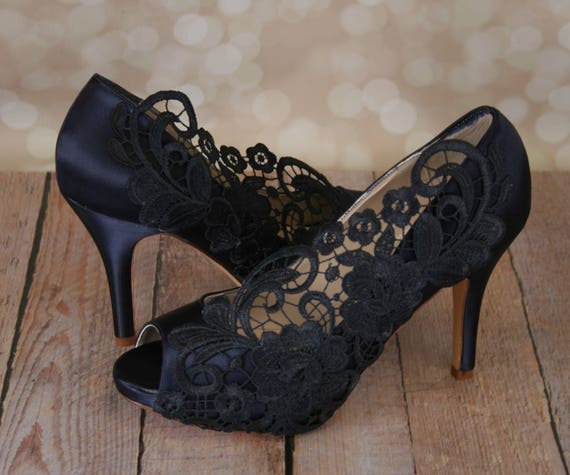 Wedding Shoes Navy Blue