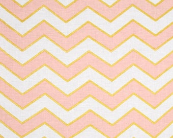 "SUMMER SALE End of Bolt - 25""x44"" of Confection Chic Chevron Pearlized From Michael Miller's Glitz Collection"